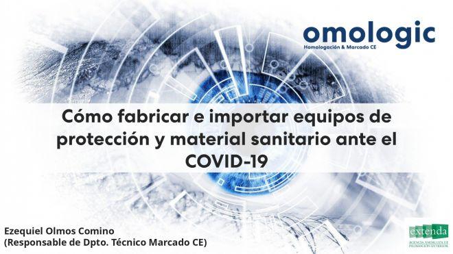 Cartel Cómo fabricar e importar equipos de protección ante el COVID-19